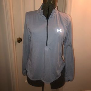 Under armour half zip heat gear jacket